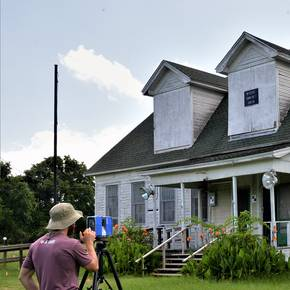 Arch students aid restoration of historic Wheelock schoolhouse