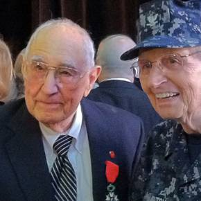 Outstanding Alum honored by France for heroic WWII service