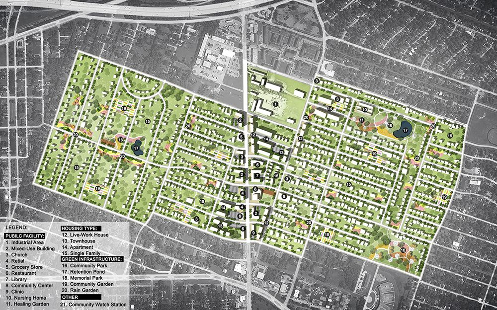 Landscape architecture students' plans earn Texas ASLA Awards - One|Arch