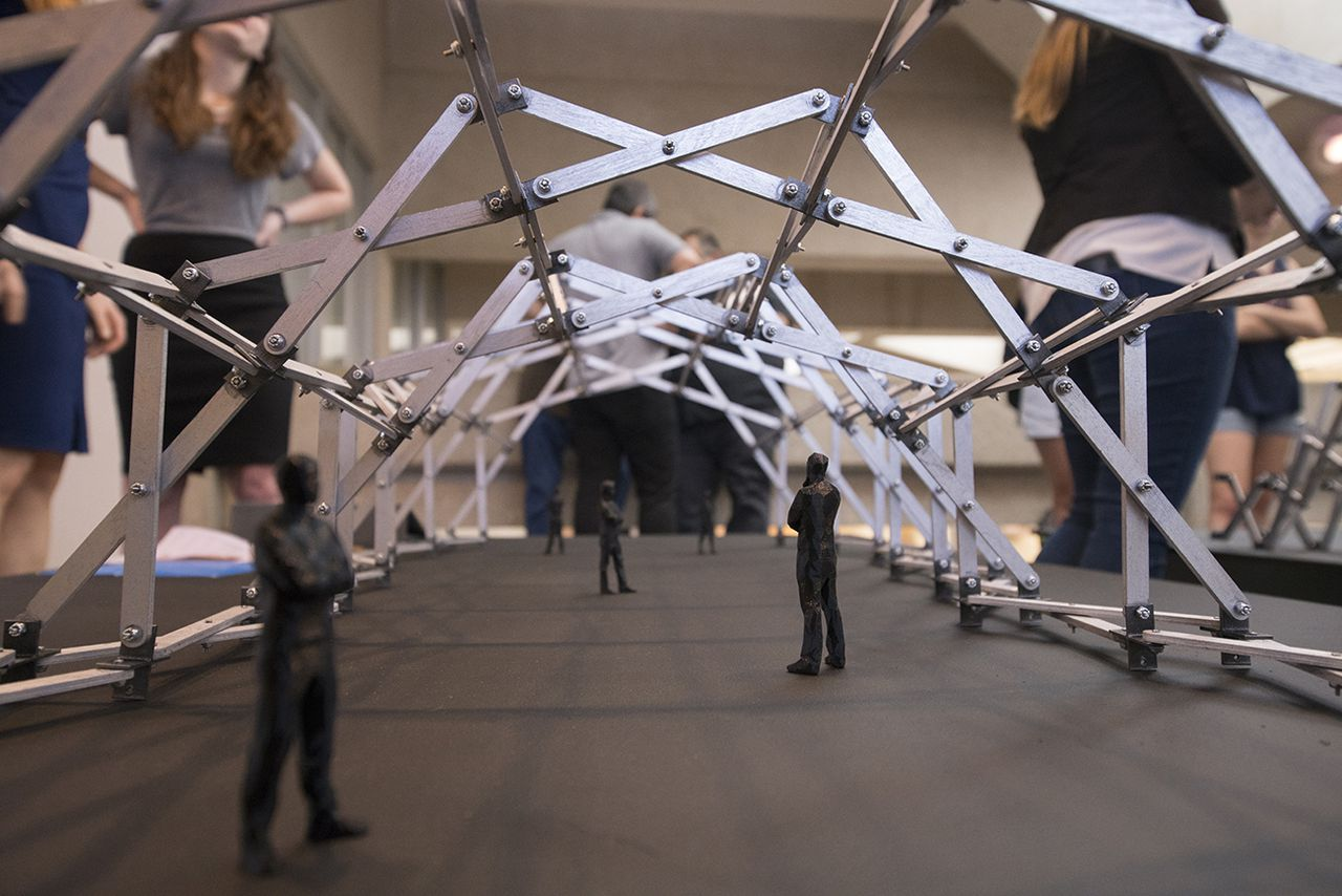 Design Students Create Lightweight Transforming Awe