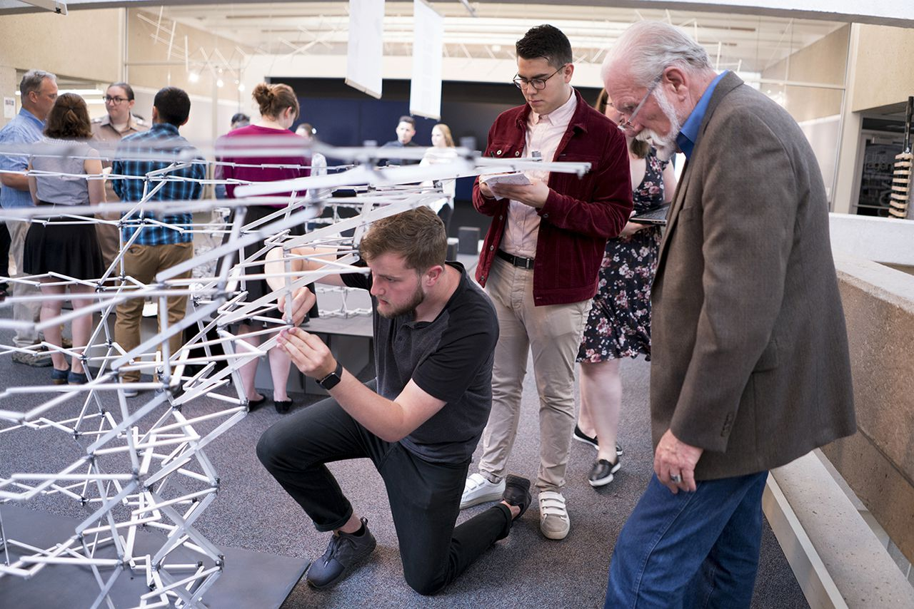 Design Students Create Lightweight Transforming Awe