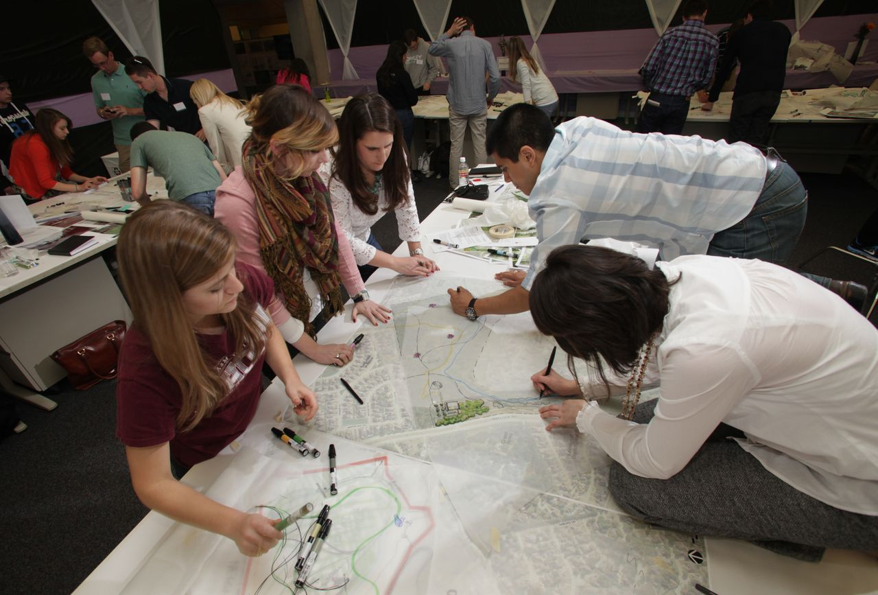 Aggie workshop featured lectures charrettes with pros - Charrette dessin ...