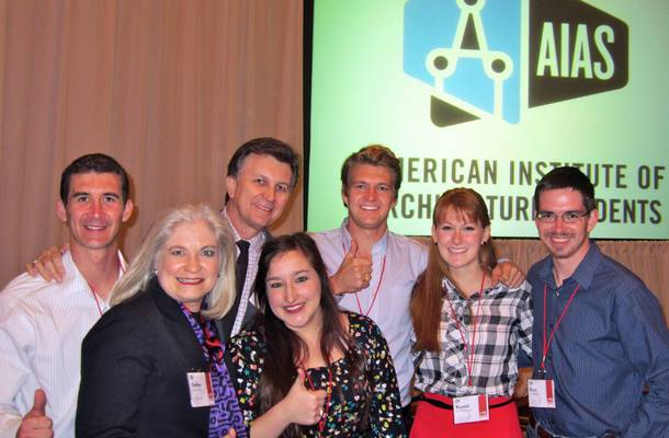 Aggie AIAS chapter leaders encountered fellow Ags