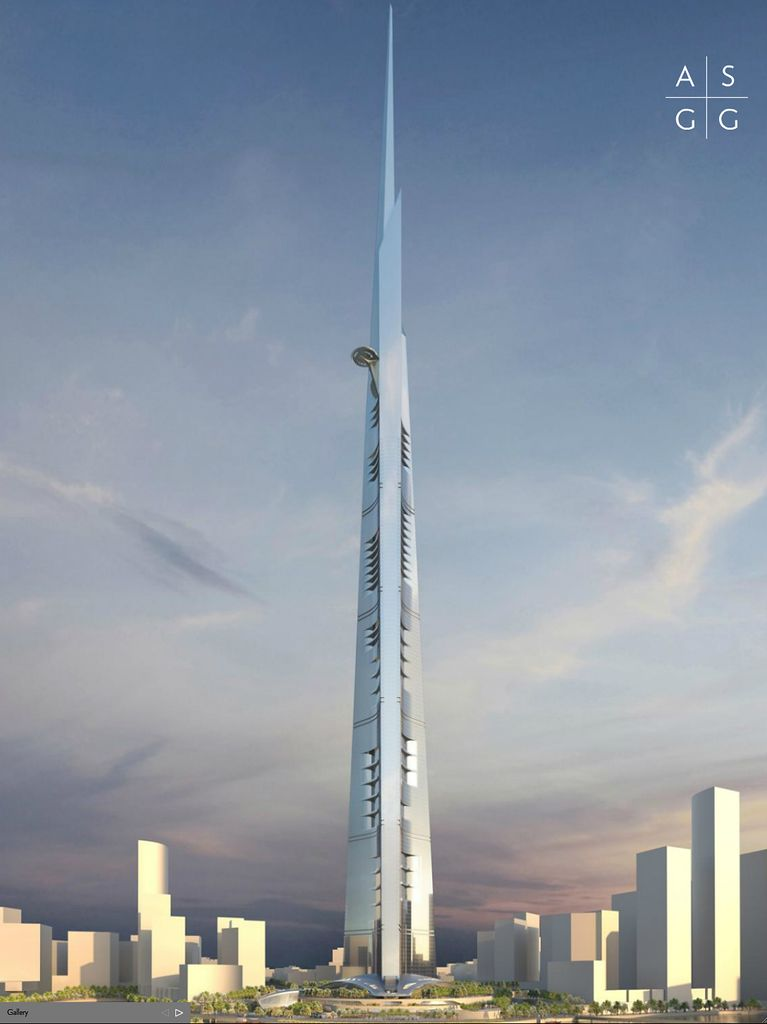 Alum S Firm Designs Kingdom Tower To Be World S Tallest