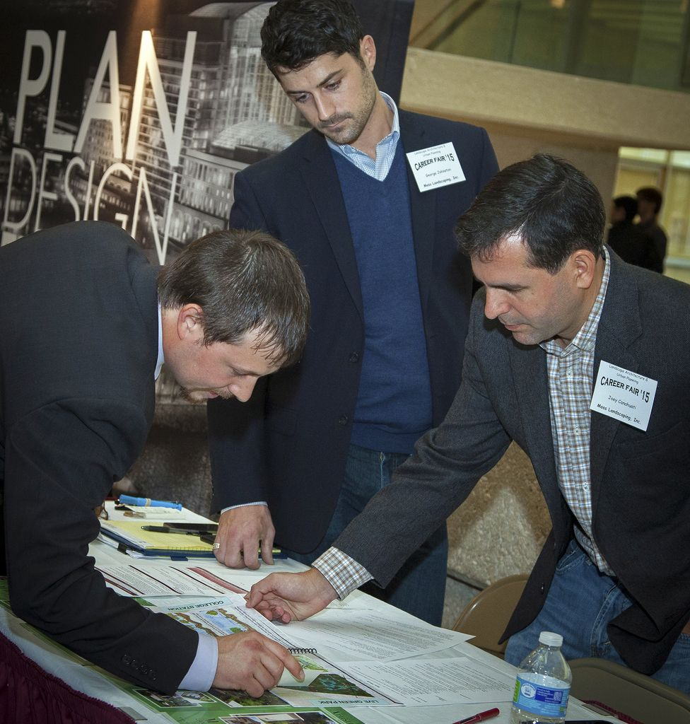 Career Fairs Draw 1300 Job Seekers - One
