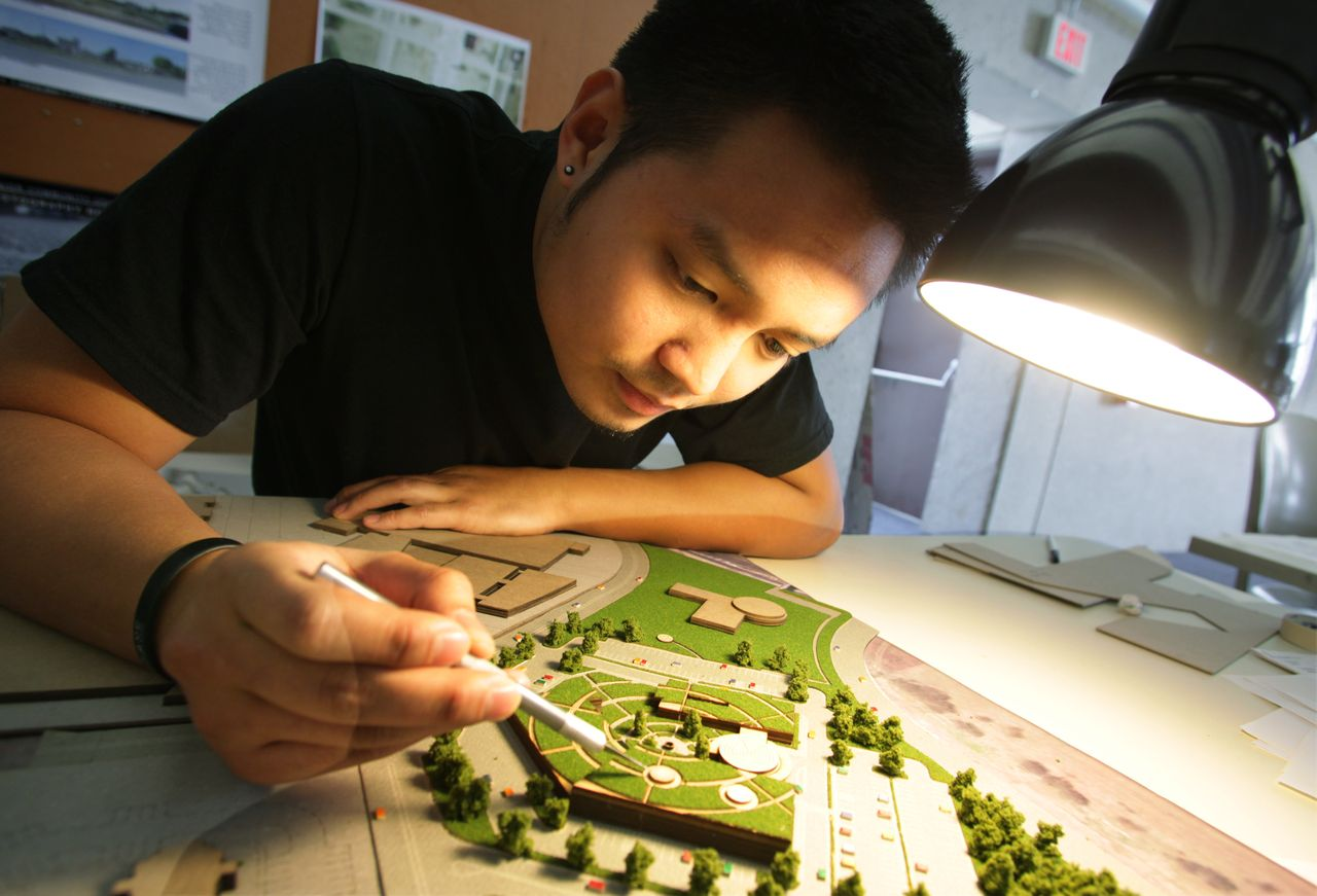 Bed students unveil health facility designs for sa clinic for By design home care san antonio