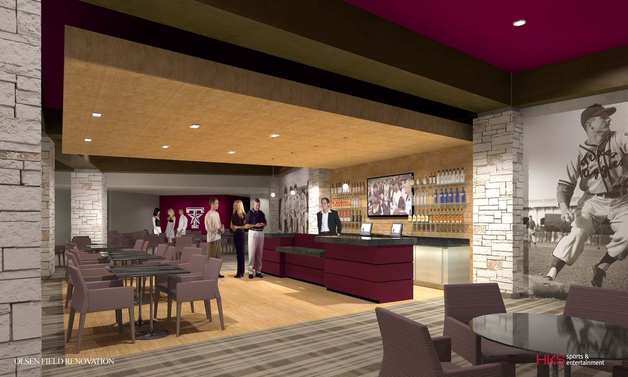 Head renovation teams for ags new olsen field at blue bell park