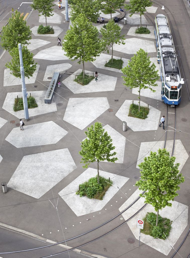 Wright gallery hosts swiss landscape architecture exhibit for Form garden architecture