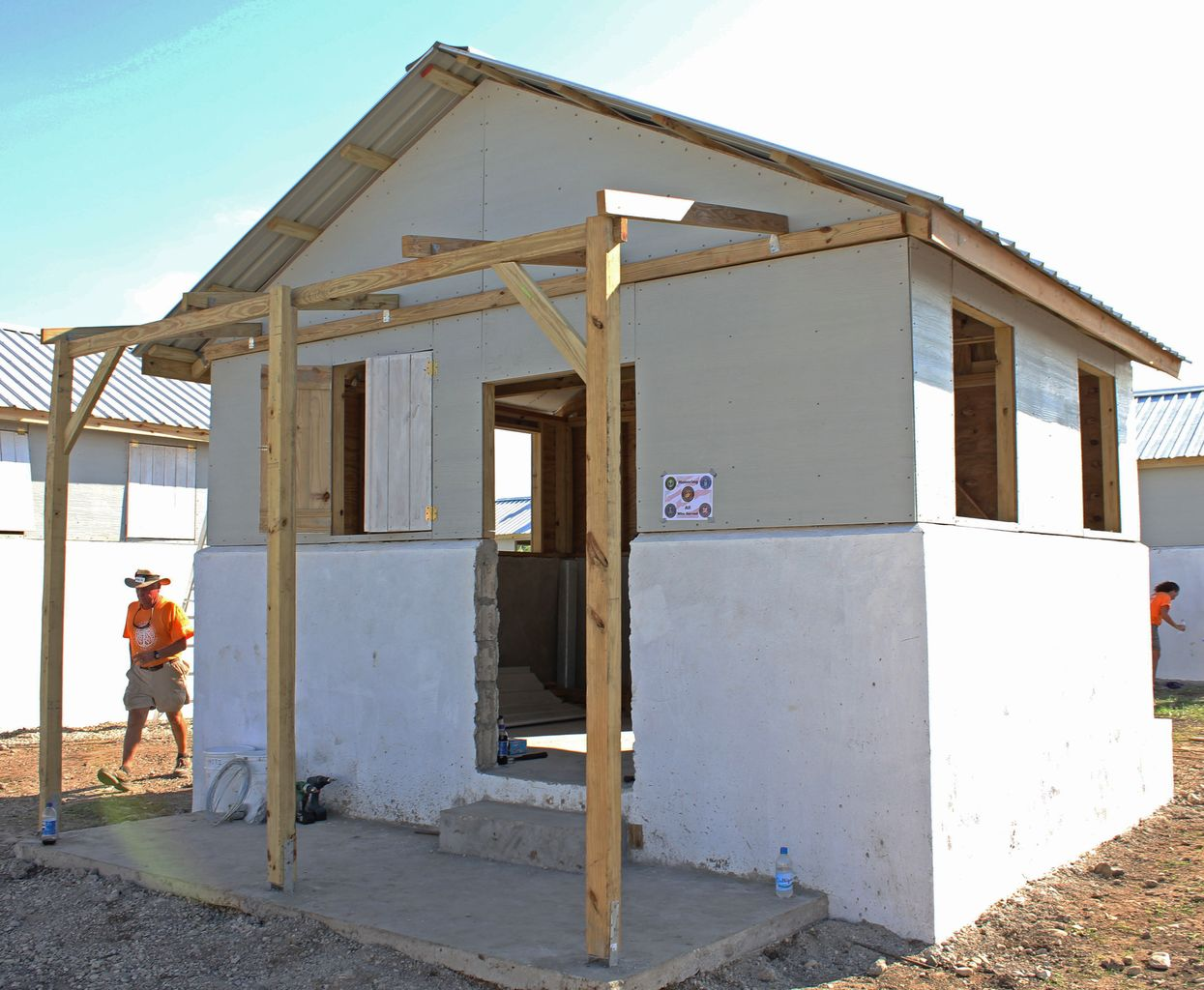 Former Students In Haiti Building Homes For Earthquake